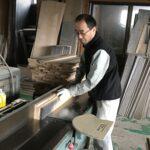 桐たんすの組み立て 兵庫県N様の和たんすを作る8