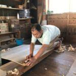 和歌山県H様の和たんすを作る