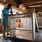 和歌山県H様の和たんすを作る4