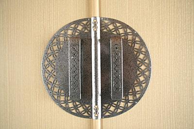 桐たんす金具「玉虫・銀」