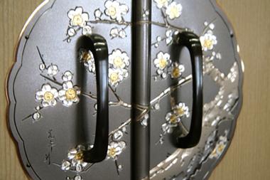 桐たんす 金具(黒梅)