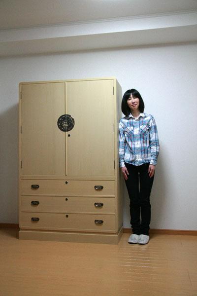 桐たんす 和たんす 3.6寸 下三 胴厚
