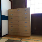 栃木県 石村様 桐たんす 整理たんす「ほおずき」別注