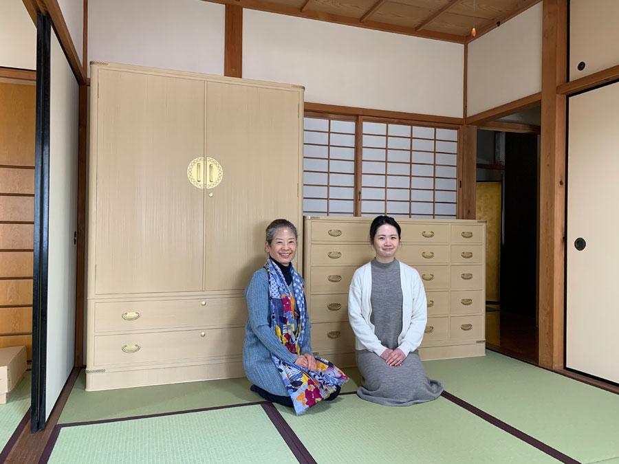 兵庫県 近藤様 和たんす「菊」別注+整理たんす「十六夜」別注