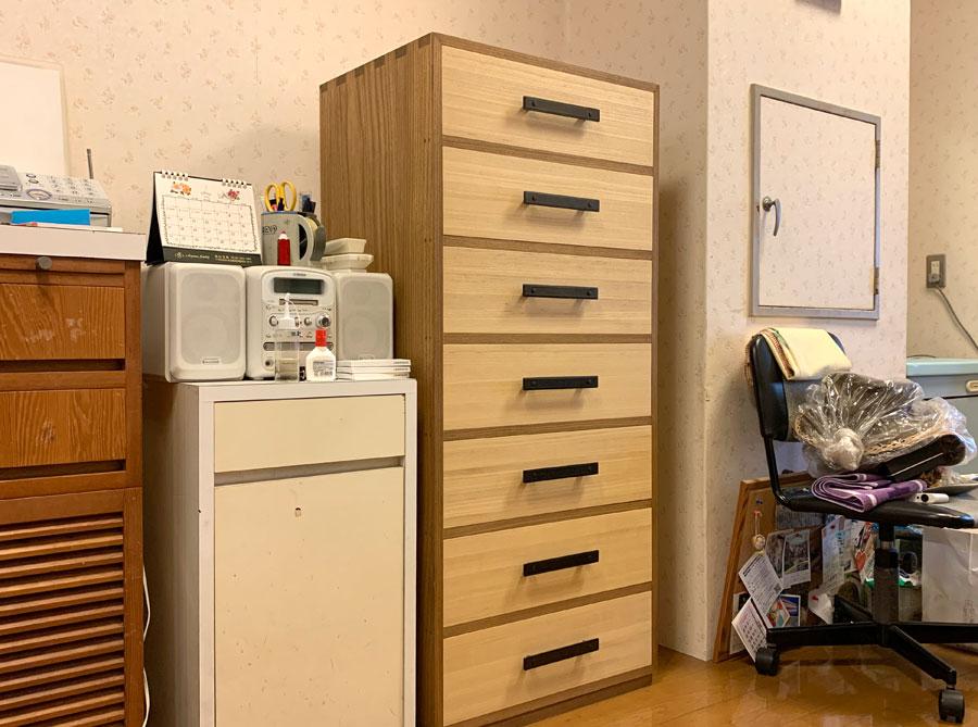 静岡県 柴田様 桐チェスト「アンバー70」
