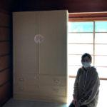 三重県 水野様 桐たんす 和たんす「笹竹」別注