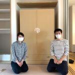 新潟県 渡辺様 洋服たんす「うるみ桜」別注&桐チェスト「アンバー33」別注