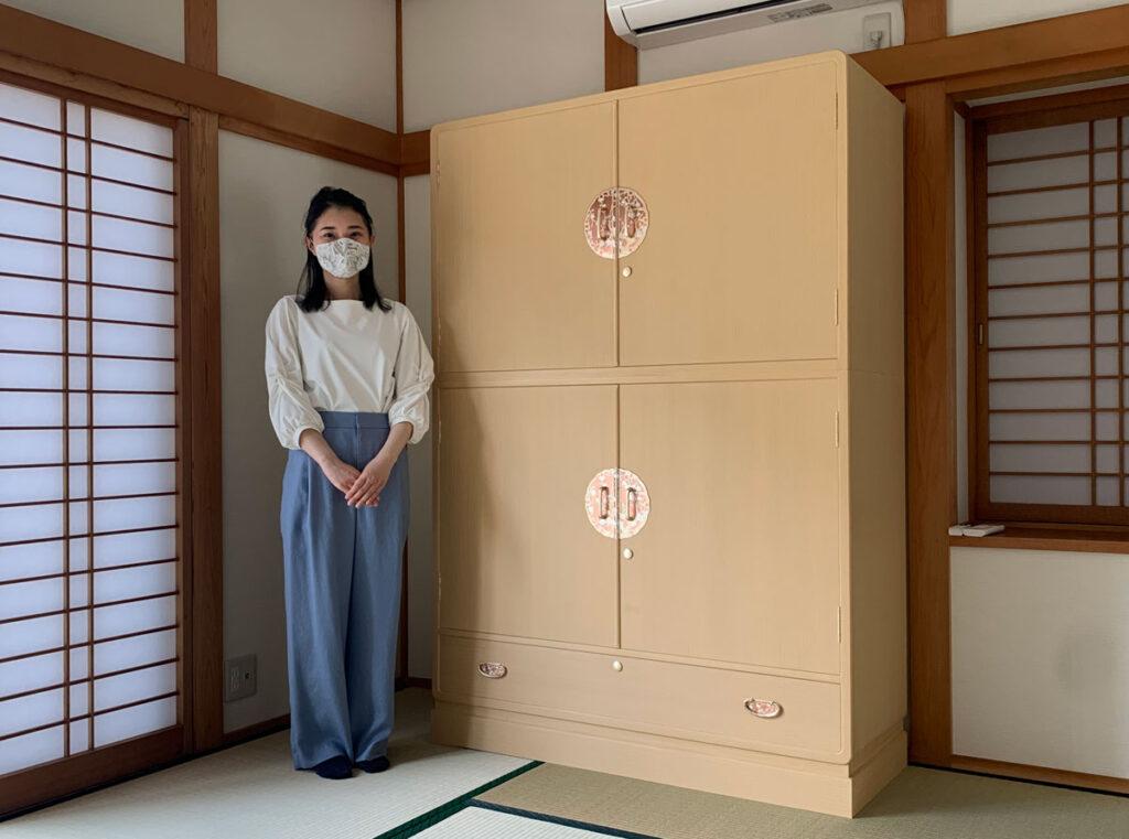 岐阜県 U様 桐たんす 和たんす「葵」別注の画像