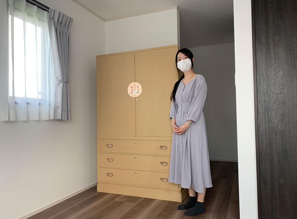 長野県 米澤様 桐たんす 和たんす「すずらん」