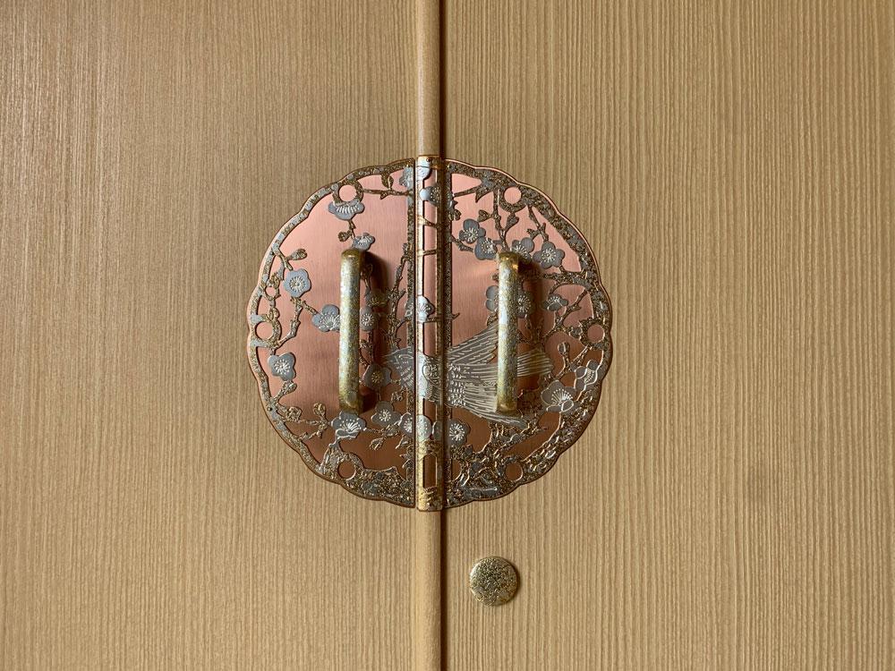 茨城県 坂本様 和たんす「葛葉」&整理たんす「葛葉」の金具