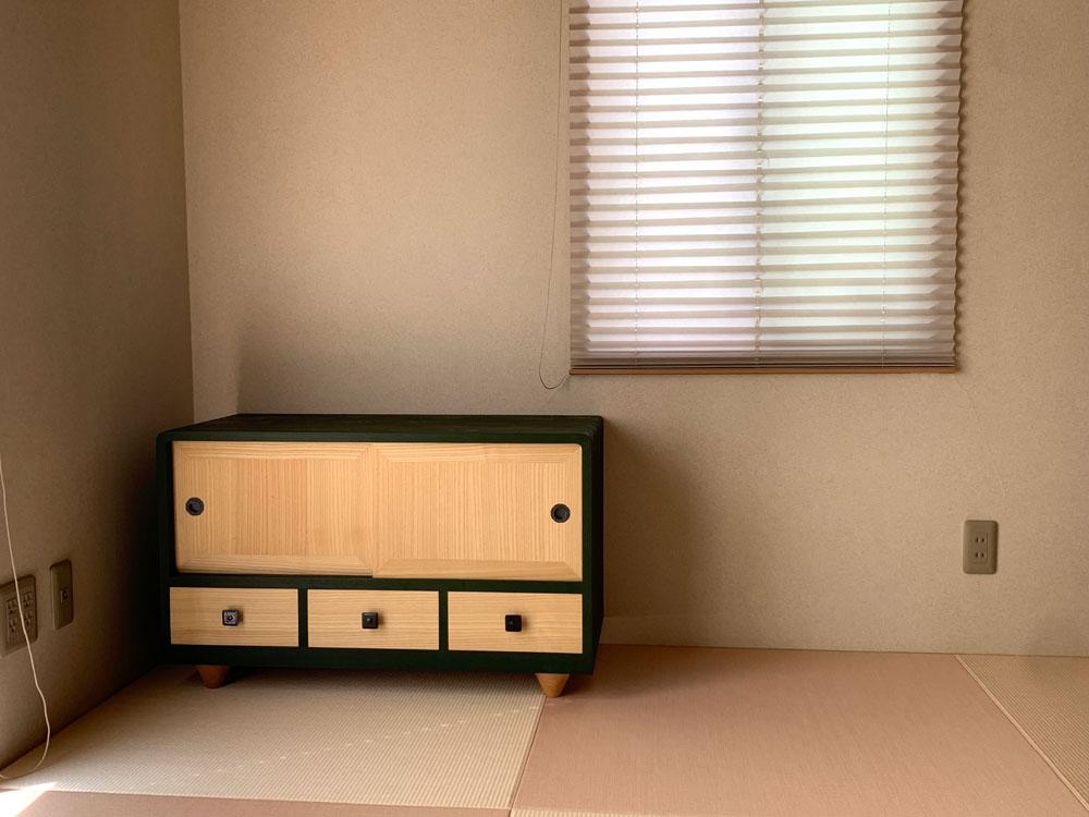 茨城県 井坂様 桐たんす 整理たんす 修理・再生・リメイク後の画像