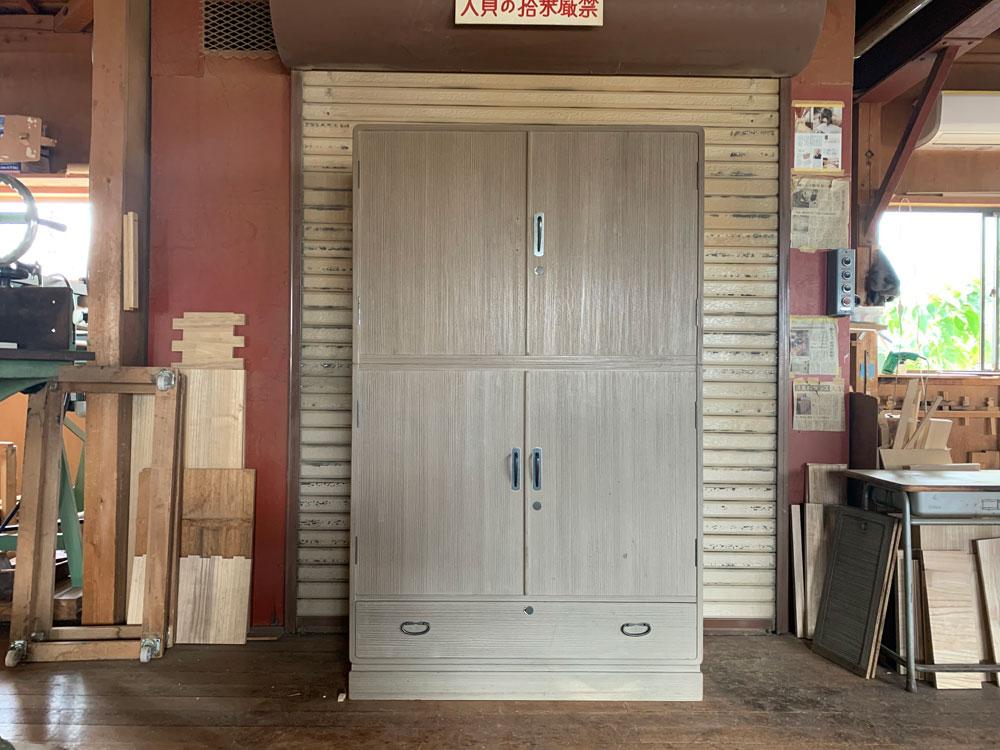 神奈川県  小山様 桐たんす 和たんす 修理・再生・リフォーム前の画像